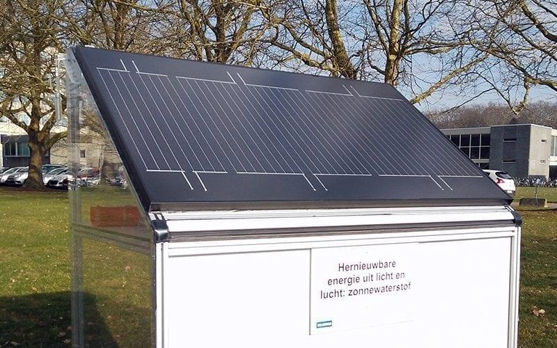 Создана солнечная панель, которая выделяет водород из воздуха